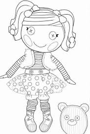 Small Picture Beautiful Lalaloopsy Coloring Pages 55 On Line Drawings With