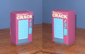 Papercraft Vending Machine Mesmerizing Crack Vending Machine Assembld By Billybob48 On DeviantArt