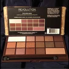 makeup revolution golden bar eyeshadow palette