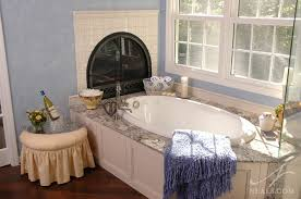 romantic bathroom. A Warm And Romantic Bathroom Remodel In Indian Hill, Ohio.