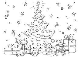 Disegni Di Alberi Di Natale Da Colorare Unadonna