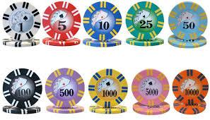 2 Stripe Twist 1000pc 8g Poker Chip Set W Acrylic Case