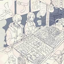 AMURO TOORU & AZUSA ENOMOTO
