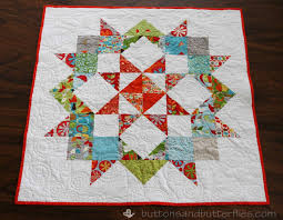 Buttons and Butterflies: Peanut's Baby {Quilt} & Quilting: Free motion circles on HQ Avante longarm Adamdwight.com