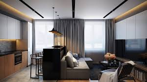 contemporary apartment furniture. large size of cozy white black wall with glass window and contemporary furniture as apartment design 0