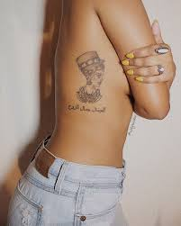 Follow At Allynaidoo On Ig For More Queen Nefertiti Tattoo Design