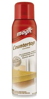 magic american chemical corp 1862 magic aerosol countertop cleaner w stay clean technology 17 oz each the hardware hut
