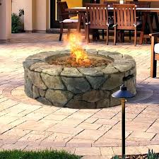 gas fire column global outdoors faux wood table outdoor propane pit uniflame lp tabletop this