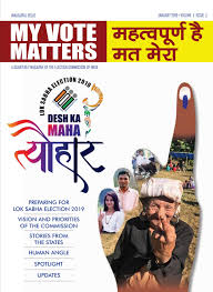 My Vote Matters Edition 1 January 2019 English Hindi My Vote