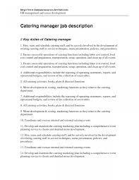 Sales Manager Jobescription Template Sample Regional Resume