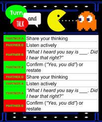 Anchor Chart Turn And Talk