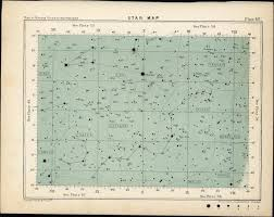 Star Map Leo Sextanus Hydra Cancer Crater