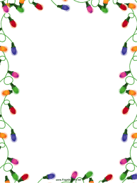 Holiday Borders For Word Documents Free Holiday Borders For Word Documents Christmas Lights Christmas