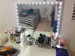 diy makeup vanity mirror. Diy Makeup Vanity Ikea Lighted Mirror Using Stave  And Lumienoodle Diy Makeup Vanity Mirror O
