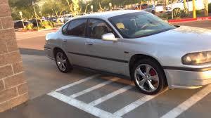 2003 Chevy Impala Silver w/ Chrome Wheels - Startup - YouTube