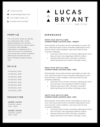 Engineering Resume Templates Samples And Examples