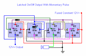 on off output using a single momentary negative pulse positive latched on off output using a single momentary negative pulse positive output
