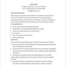 Amazing Design Event Coordinator Resume Sample Event Planner Resume