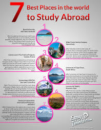 best places in the world to study abroad ly 7 best places in the world to study abroad infographic