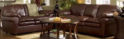 412 Blackwood Auburn Leather Sofa Ashley Furniture
