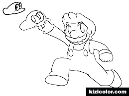 Coloring Super Mario Cremzempme