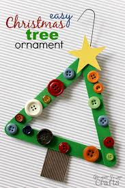 3 Easy Christmas Crafts To Make With Your Kids  Christmas Tree Christmas Tree Ornament Crafts