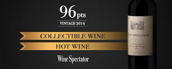 Wine Spectator Vintage Chart 2016 Don Melchor 2014 The Highest Score In Its History In Wine