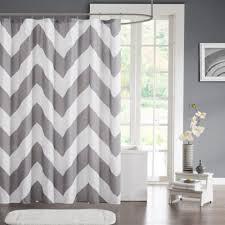 grey chevron shower curtains. Mi Zone Libra Microfiber Shower Curtain In Grey Grey Chevron Shower Curtains