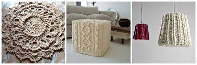 Crochet Decoration Patterns How Crochet And Knitting Have Influenced The World Of Decor