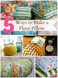 floor cushions diy. 5 Ways To Make A Floor Pillow Infarrantly Creative How To Make Giant Floor  Pillows Cushions Diy