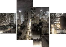 the best black and white new york canvas wall art throughout most recently released canvas wall on canvas wall art new york city with 15 best collection of canvas wall art of new york city
