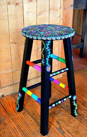 painting bar stools ideas. Delighful Ideas I Love This Hmmmmm Gives Me An Idea To Do With Our Bar Inside Painting Bar Stools Ideas R