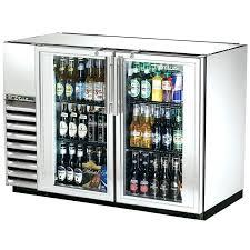 small glass door refrigerator glass door refrigerator freezer