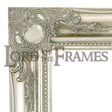 3 silver decorative picture frame to fit a 24x36 picture