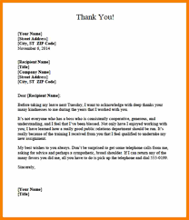 8 Thank You Letter For Boss After Resigning Job Letteres