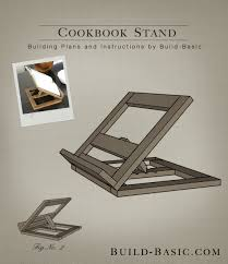 build a cookbook stand building plans by buildbasic build basic