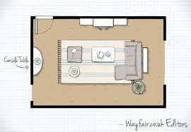Living Room Layout Unique Design