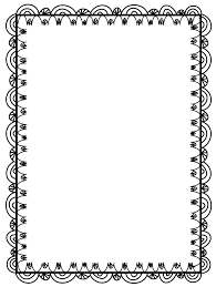 Free Page Border Templates For Microsoft Word Free Page Borders And