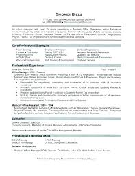 Medical Office Administration Resume Objective