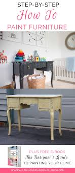 how to paint furniture diy paint furniture step by step tutorial for beginners