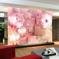 murals elegant photo wallpaper white lotus wall mural silk large art room decor kid s bedroom