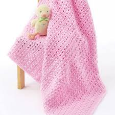 Yarnspirations Patterns Magnificent Caron One Skein Baby Blanket Yarnspirations