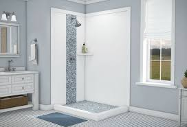 Seamless shower walls 18 Inch Diy Shower Wall Panels Can Be Used For Standard Or Custom Sized Showers Innovate Building Innovate Building Solutions Blog Custom Shower Wall Panels Things Nobody Tells You That You Need