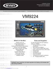 jensen vm9224 manuals Jensen Heavy Duty Stereo Wiring at Jensen Vm9424 Wiring Diagram