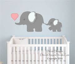 Small Picture Decoration Elephant Wall Decals Home Decor Ideas