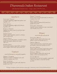 Indian Restaurant Cafe Menu Design Templates By Musthavemenus