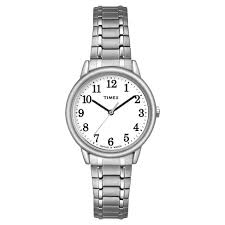 Women's Timex Easy Reader® Expansion Band Watch - Silver TW2P78500JT ...