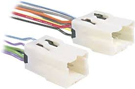 car deck harnesses car audio stereo cd player harness best buy metra turbo wire aftermarket radio wire harness adapter for select nissan vehicles white