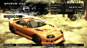 Toyota Supra - Customization & Race - Need for Speed Most Wanted ...