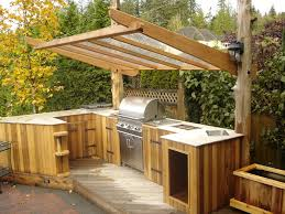 furniture patio deck grills fireplaces custom outdoor kitchens landscape eclectic with blue cushions